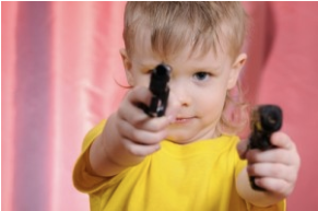 Child with guns